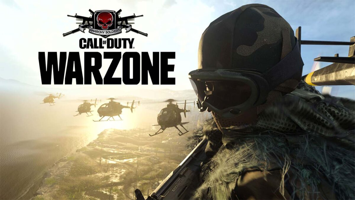 call of duty warzone anrachy soldiers